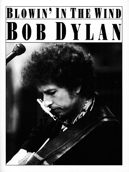 Bob Dylan - Blowin' in the Wind piano sheet music