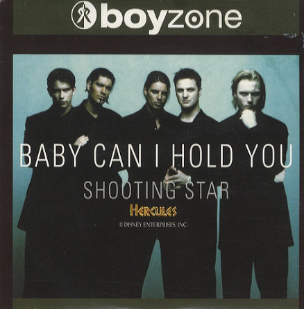 Boyzone - Baby Can I Hold You piano sheet music