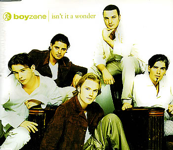 Boyzone - Isn't It a Wonder piano sheet music