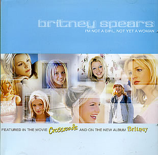 Britney Spears - I'm Not a Girl, Not Yet a Woman piano sheet music