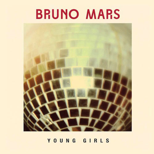 Bruno Mars - Young Girls piano sheet music