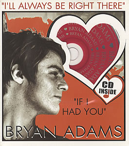 Bryan Adams - I'll Always Be Right There piano sheet music