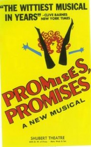 Burt Bacharach - Promises, Promises piano sheet music