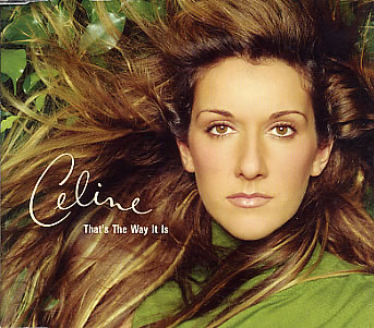 Celine Dion - That's the Way It Is piano sheet music