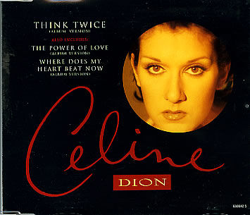 Celine Dion - Think Twice piano sheet music