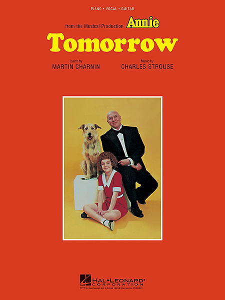 Charles Strouse - Tomorrow piano sheet music