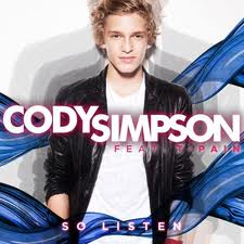 Cody Simpson - So Listen (feat. T-Pain) piano sheet music