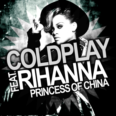 Coldplay - Princess of China (feat. Rihanna) piano sheet music