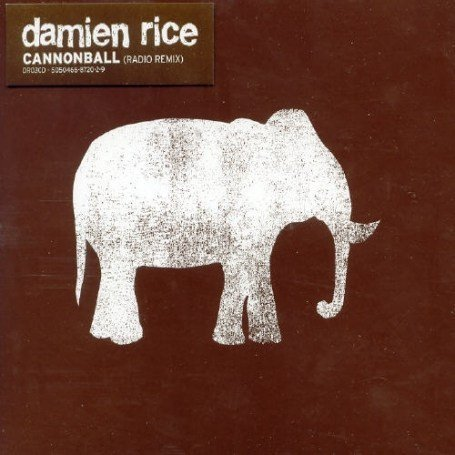 Damien Rice - Cannonball piano sheet music