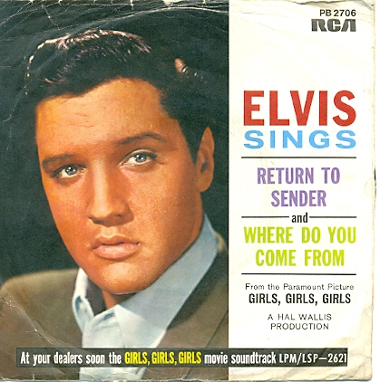 Elvis Presley - Return to Sender piano sheet music
