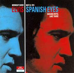 Elvis Presley - Spanish Eyes piano sheet music