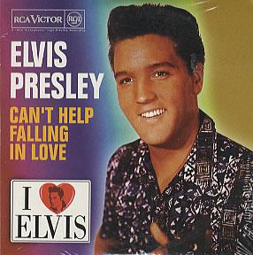 Elvis Presley - Can't Help Falling in Love piano sheet music