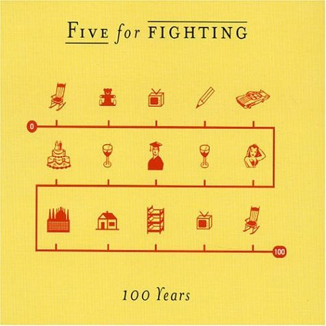 Five for Fighting - 100 Years piano sheet music