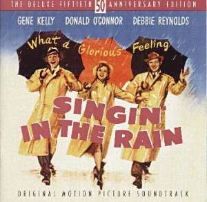 Frank Sinatra - Singin' in the Rain piano sheet music
