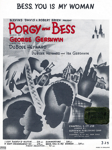 George Gershwin - Bess, You Is My Woman Now piano sheet music