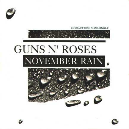 Guns N' Roses - November Rain piano sheet music