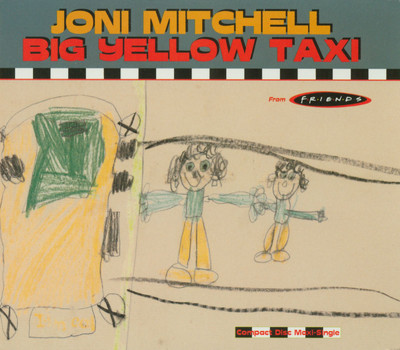 Joni Mitchell - Big Yellow Taxi piano sheet music