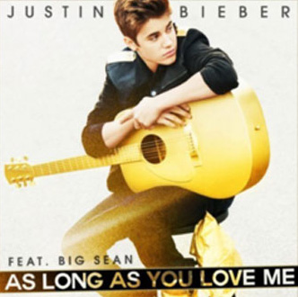 Justin Bieber - As Long as You Love Me (ft. Big Sean) piano sheet music