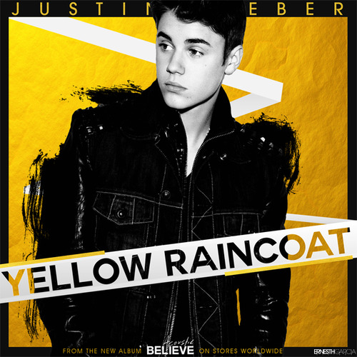 Justin Bieber - Yellow Raincoat piano sheet music