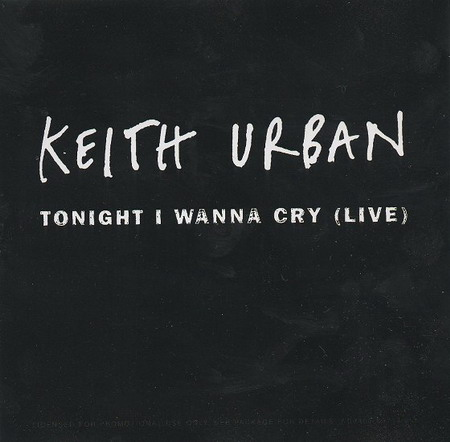 Keith Urban - Tonight I Wanna Cry piano sheet music