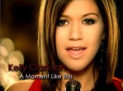 Kelly Clarkson - A Moment Like This piano sheet music