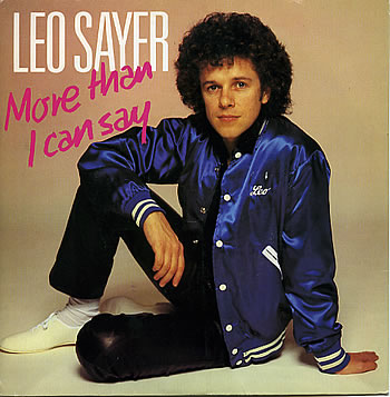 Leo Sayer - More Than I Can Say piano sheet music