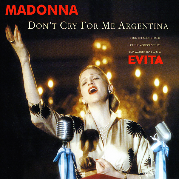 Madonna - Don't Cry for Me Argentina (Evita) piano sheet music