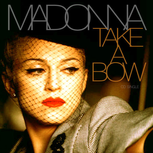 Madonna - Take A Bow piano sheet music