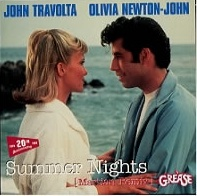 John Travolta & Olivia Newton John - Summer Nights (Grease) piano sheet music