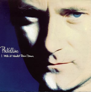 Phil Collins - I Wish It Would Rain Down piano sheet music