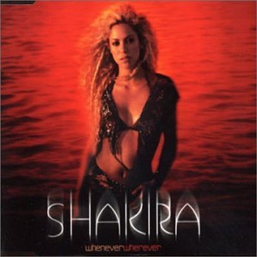 Shakira - Whenever, Wherever piano sheet music