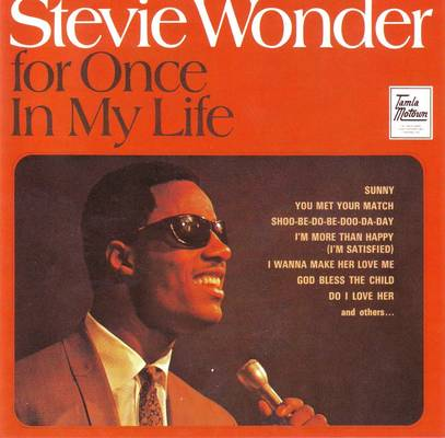 Stevie Wonder - For Once in My Life piano sheet music