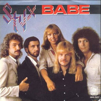 Styx - Babe piano sheet music