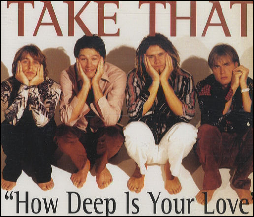 Take That - How Deep Is Your Love piano sheet music