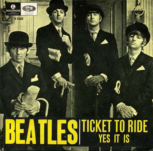 The Beatles - Ticket to Ride piano sheet music