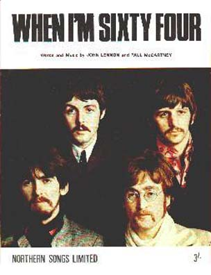 The Beatles - When I'm Sixty-Four piano sheet music