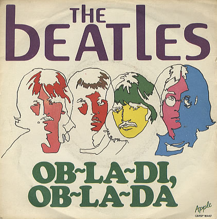 The Beatles - Ob-La-Di, Ob-La-Da piano sheet music