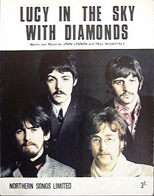 The Beatles - Lucy in the Sky with Diamonds piano sheet music