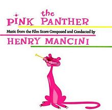 Henry Mancini - The Pink Panther Theme Song piano sheet music