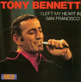 Tony Bennett - I Left My Heart in San Francisco piano sheet music