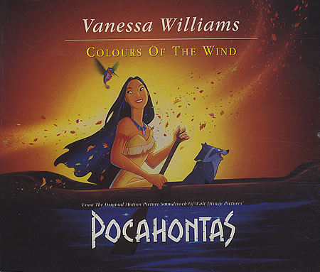 Vanessa Williams - Colors of the Wind (Pocahontas soundtrack) piano sheet music