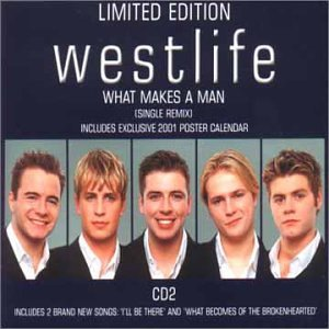 Westlife - What Makes A Man piano sheet music