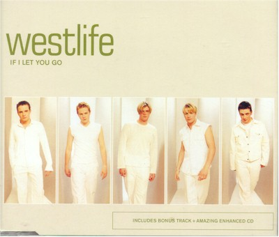 Westlife - If I Let You Go piano sheet music