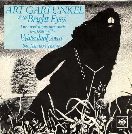 Art Garfunkel - Bright Eyes piano sheet music