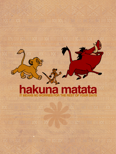 Elton John - Hakuna Matata (Lion King soundtrack) piano sheet music