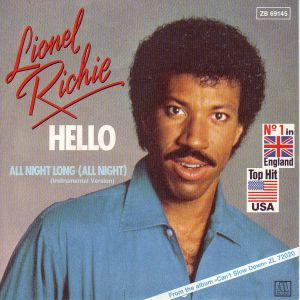 Lionel Richie - Hello piano sheet music