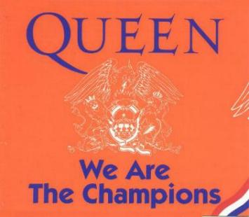 Queen - We Are The Champions piano sheet music